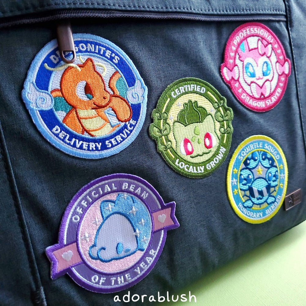Embroidered Patch Bundle [10 Designs]