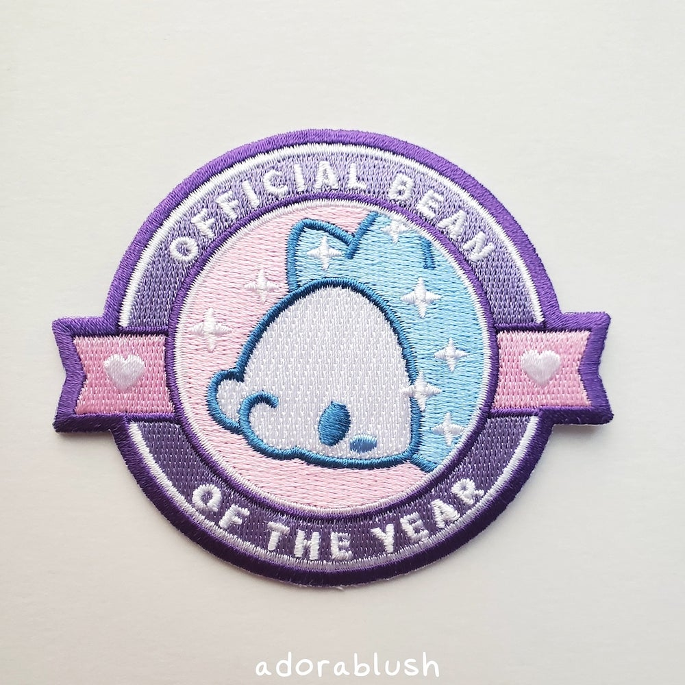 """""""Official Bean"""" - Embroidered Patch"""