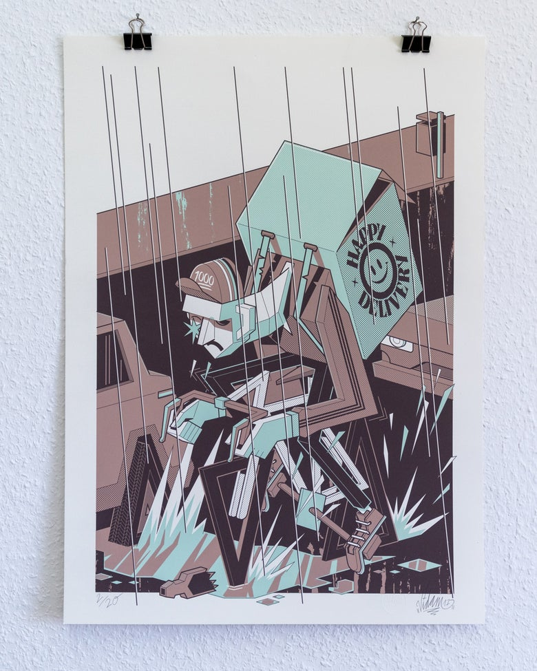 Image of Happy Delivery - Screenprint