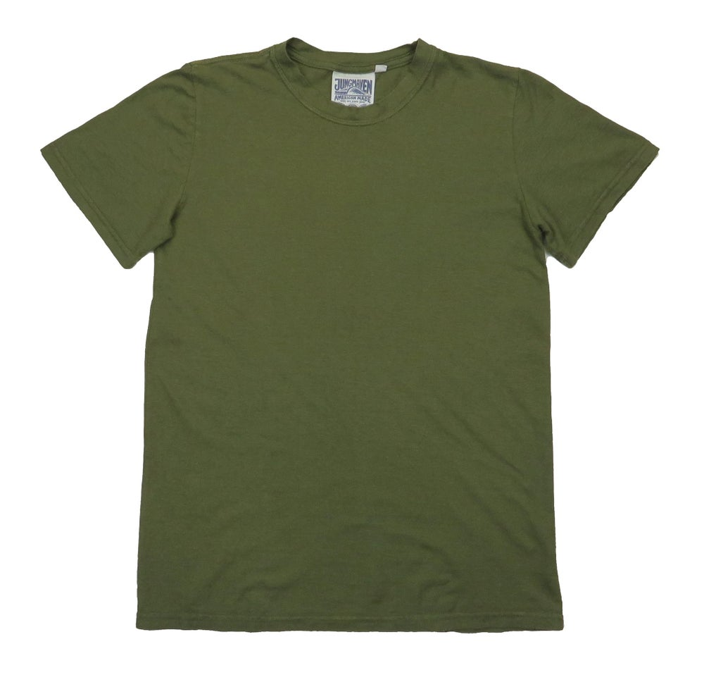 Image of Jungmaven Jung Tee - Supply Green