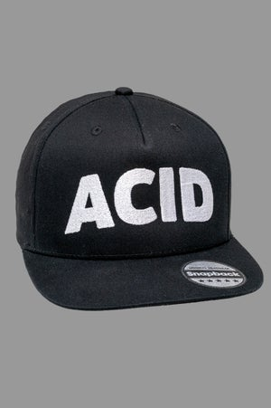 Image of Snapback Cap - Acid black