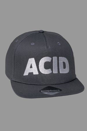 Image of Snapback Cap - Acid Grey