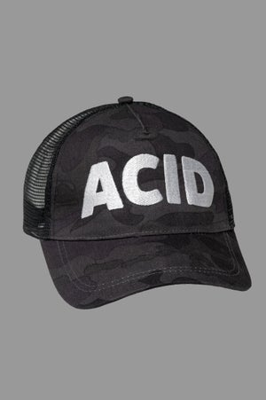 Image of Trucker Cap - Acid Night Camo