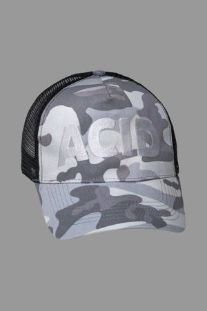Image of Trucker Cap - Acid Arctic Camo