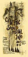 Catalytic Sound Festival Poster 2020