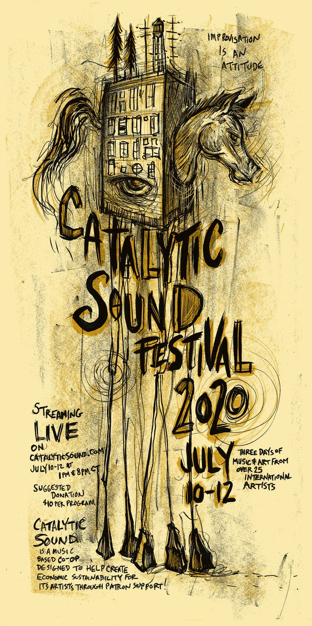 Catalytic Sound Festival Poster 2020