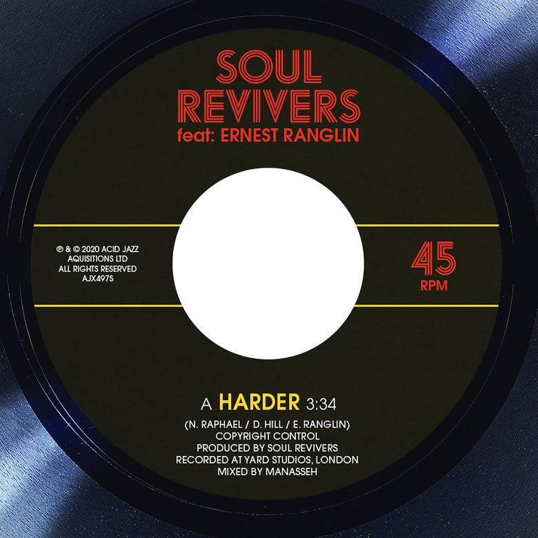Image of Soul Revivers 'Harder/Harder Dub' 7""