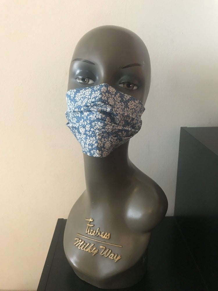 Image of Ditsy floral face mask (3 colours)