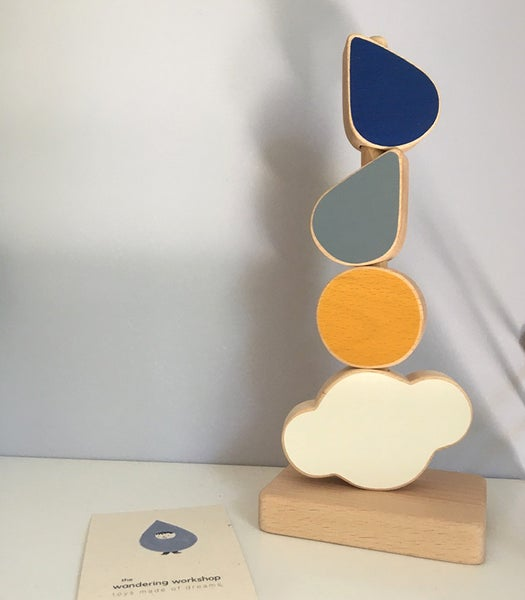 Image of The wandering workshop- Catch a Cloud stacking toy