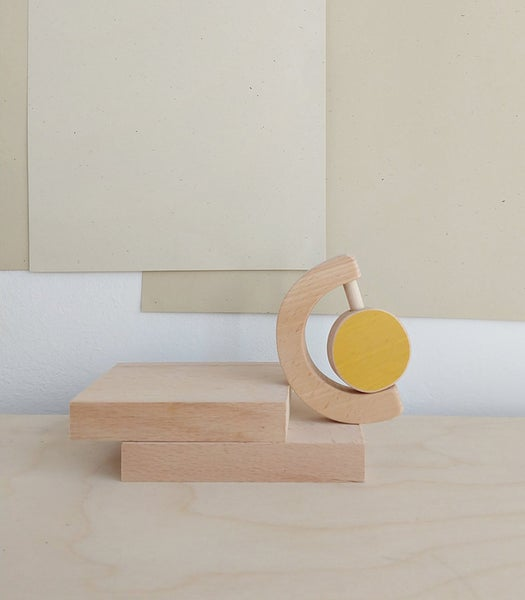 Image of The wandering workshop- Baby teether & Rattle