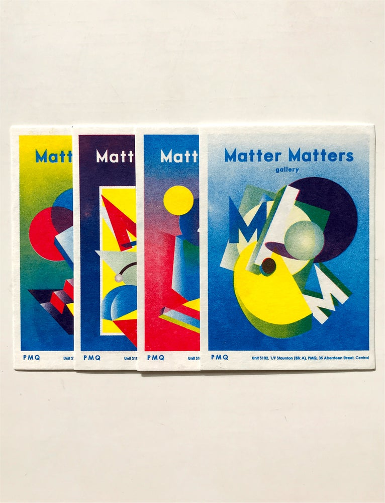 Image of Matter Matters Gallery PMQ : Risograph printed Card Set