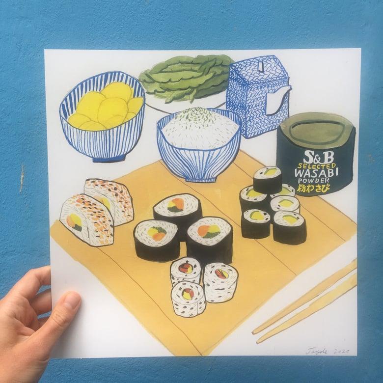 Image of Sushi print