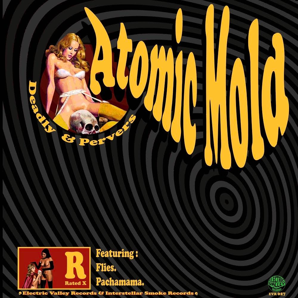 Image of ARTEAGA/ATOMIC MOLD LTD 90X TRANSLUCENT GREEN/YELLOW VINYL