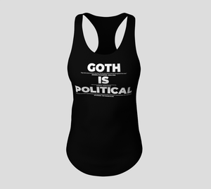 Image of Goth Is Political Tank Top