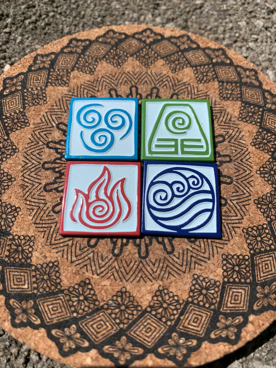 Image of Tribe Symbols (4 Pin Set)