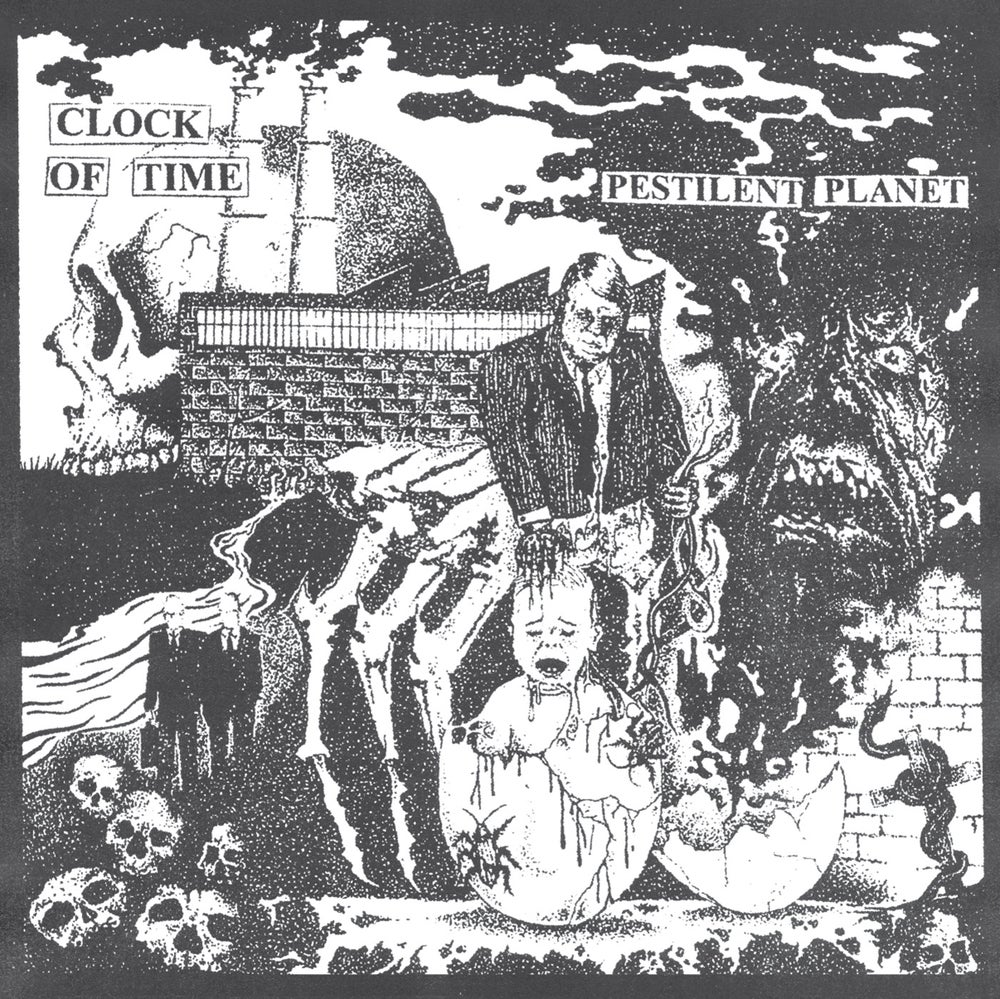 Image of CLOCK OF TIME - Pestilent Planet LP [Pre-Order. Out Aug 21st 2020]