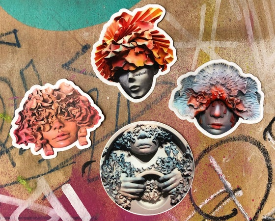 Image of Sculpture Sticker Pack