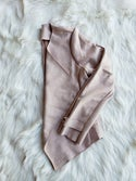 Kendra Suede Jacket (blush/olive)