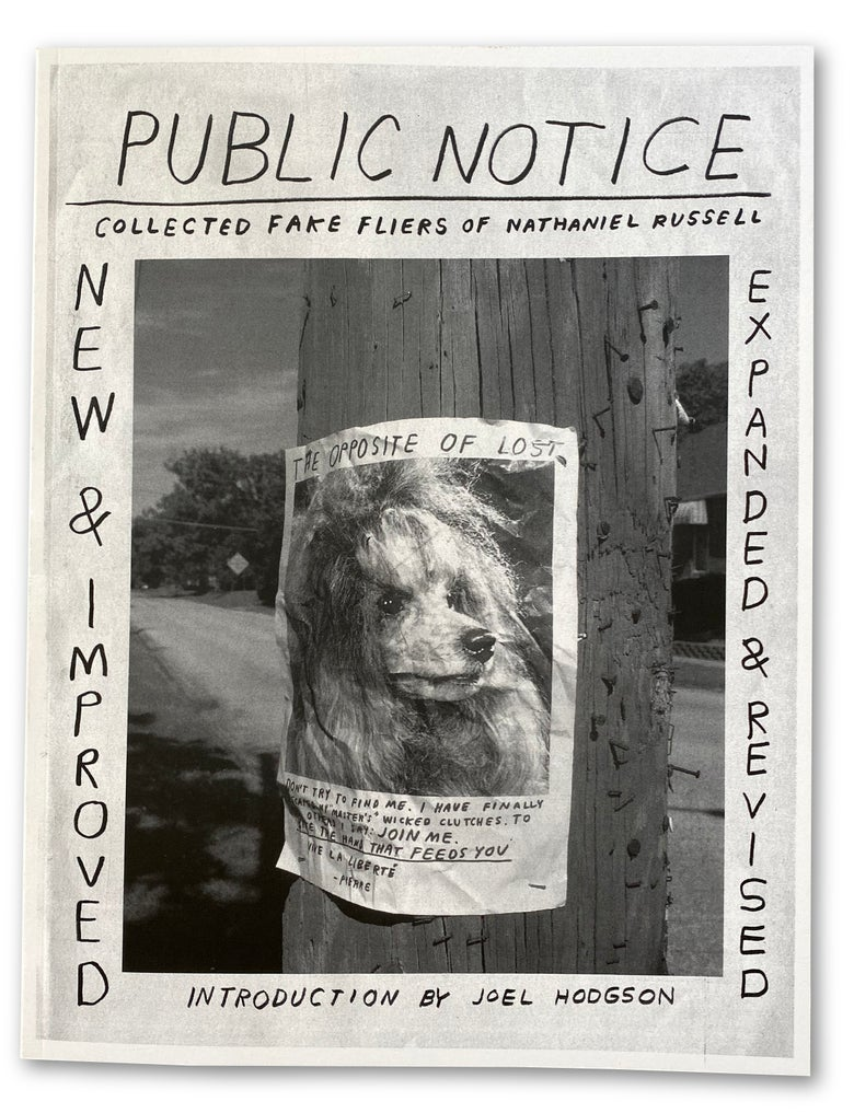 Image of Public Notice, Nathaniel Russell