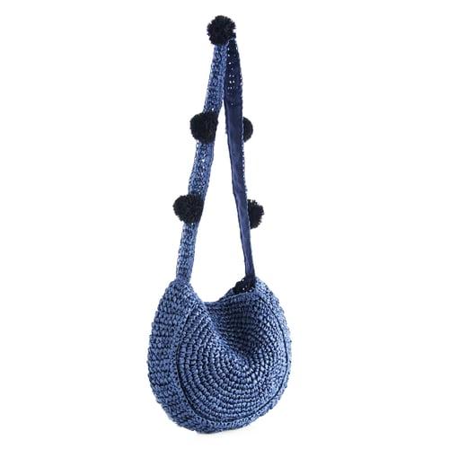 Image of STRAW SHOULDER BAG