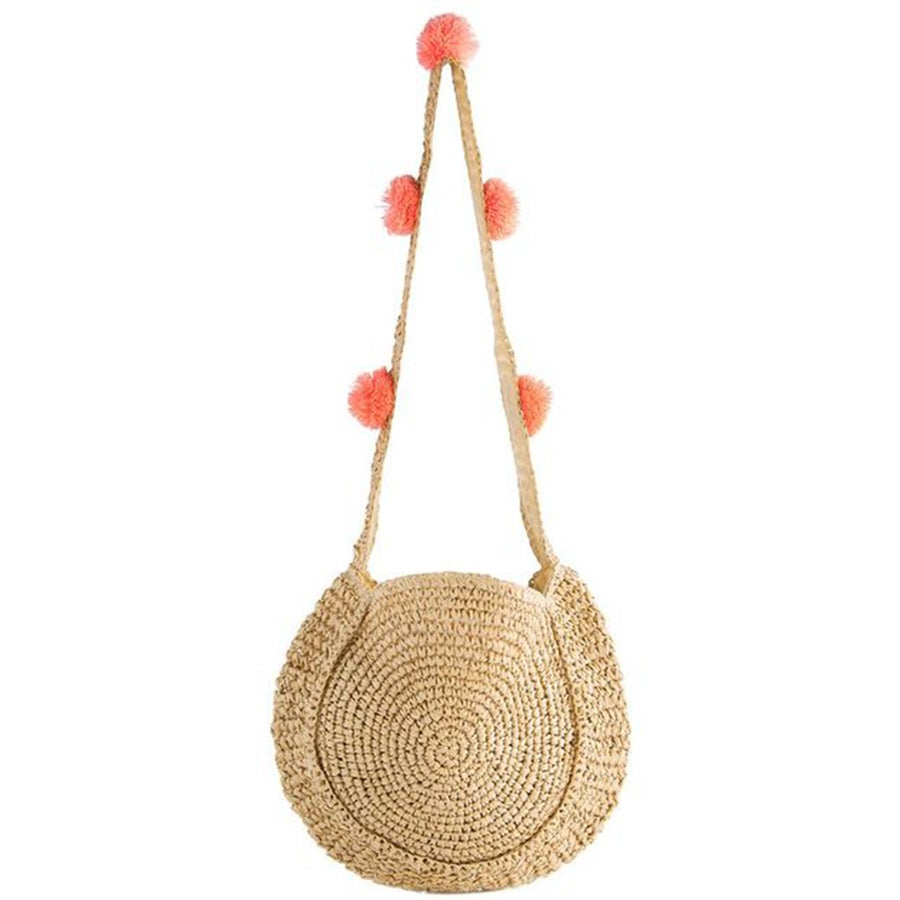 Image of STRAW SHOULDER BAG