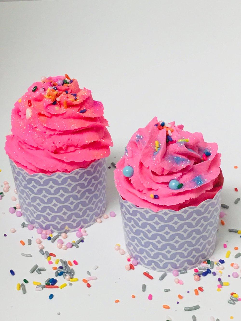 Bath Luna Cupcake- Mandarin Mimosa