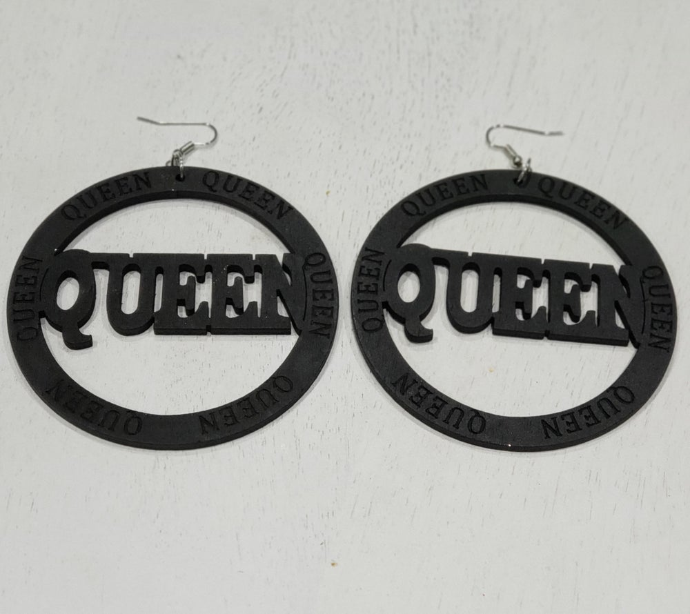 Image of Queen Earrings