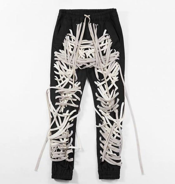 Image of Lace Me Up Pants