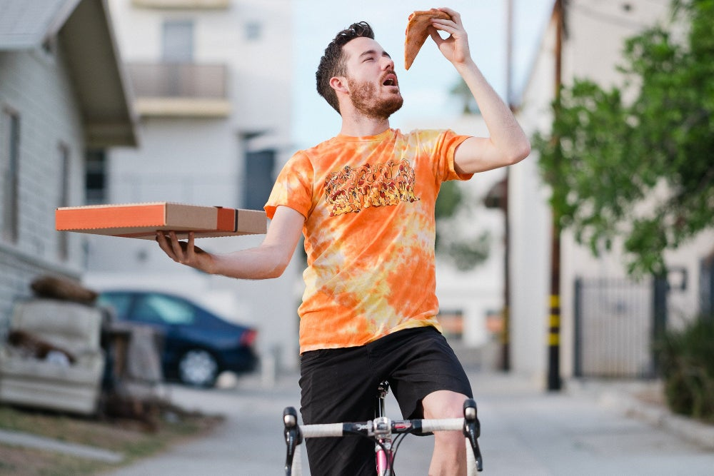 Pizza Strava T Cheesey Orange