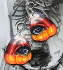 Image 2 of Haunted Candy Earrings (Little Black Bats collaboration)