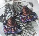 Image 3 of Haunted Candy Earrings (Little Black Bats collaboration)