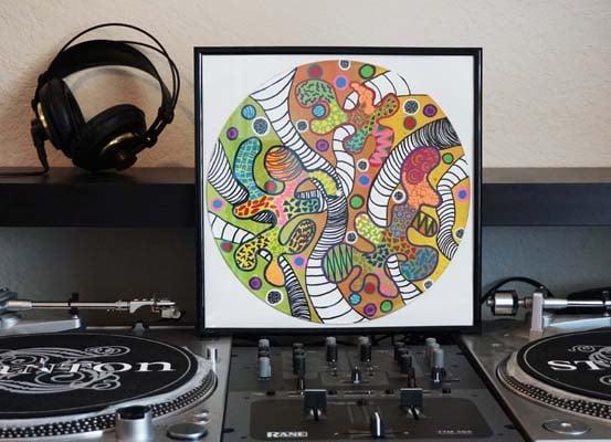 """""""Dazzy Duke Delight"""" - Vinyl Mash Up"""