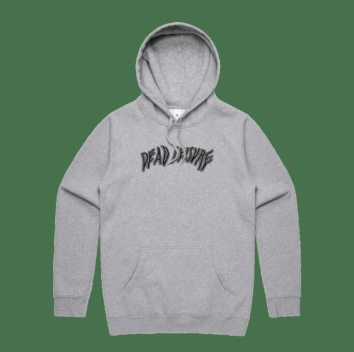 Dead Melt Logo Pullover Hoodie - Grey