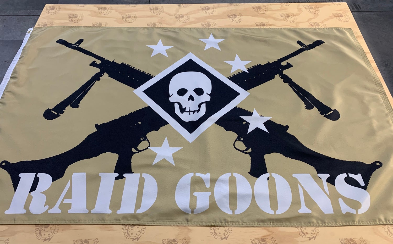 Image of Raid Goons Flag