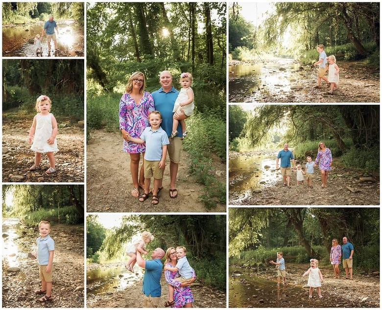 Image of July Creek Mini Session Retainer Fee