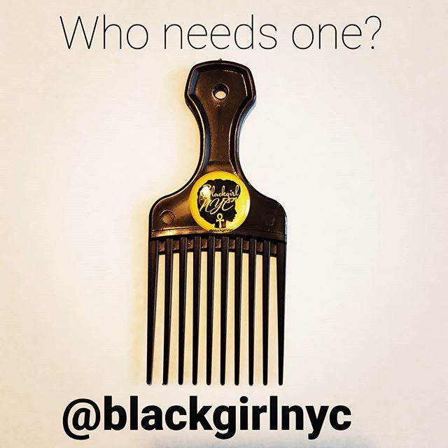 Image of Pocket Sized AFRO PICK by BlackgirlNYC