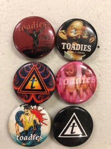 Image of Toadies Buttons (choose style below)