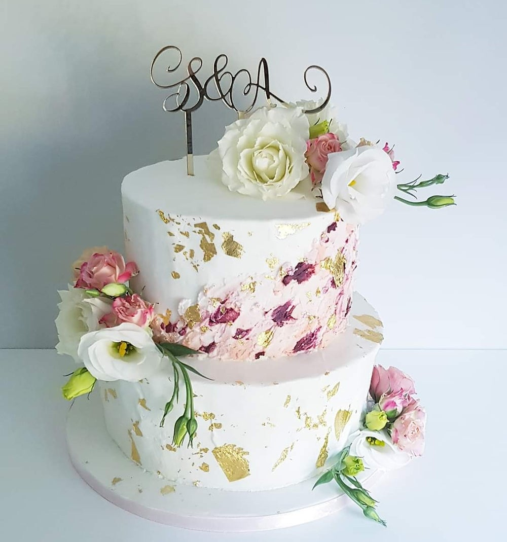 Image of Initials Cake Topper