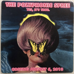 Image of Polyphonic Spree Yes, Its True Release Day Sticker