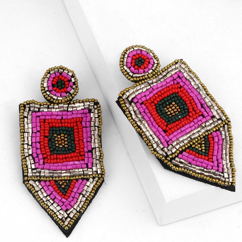 Image of Bohemian Retro Rice Earring