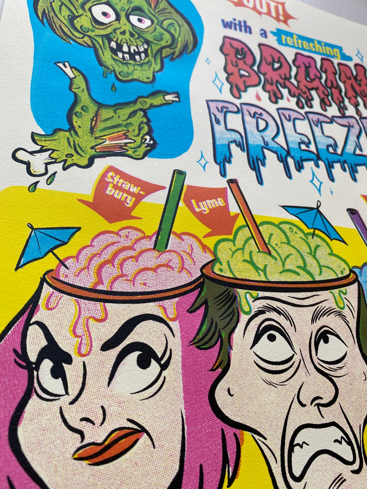 Image of Brain Freeze Poster