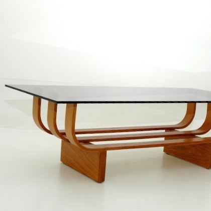 Image of TH Brown Aquarius Coffee Table