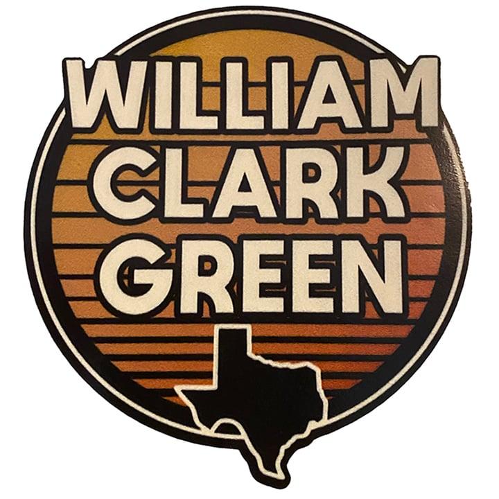 Image of Round Texas Sticker