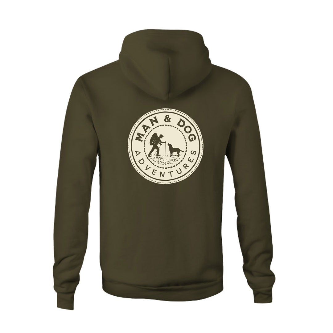 MAN & DOG ADVENTURES HOODIE