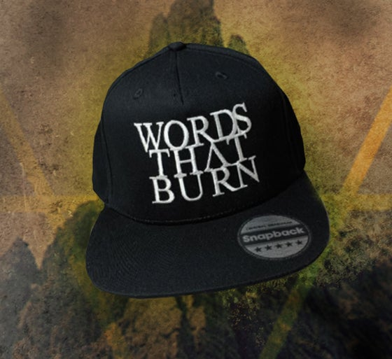 Image of WORDS THAT BURN SNAP BACK