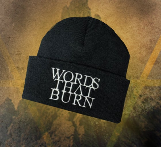 Image of WORDS THAT BURN BEANIE
