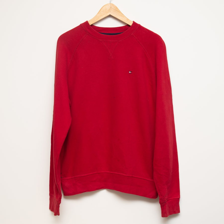 Image of Tommy Hilfiger Crewneck Red Size S (fits like M)