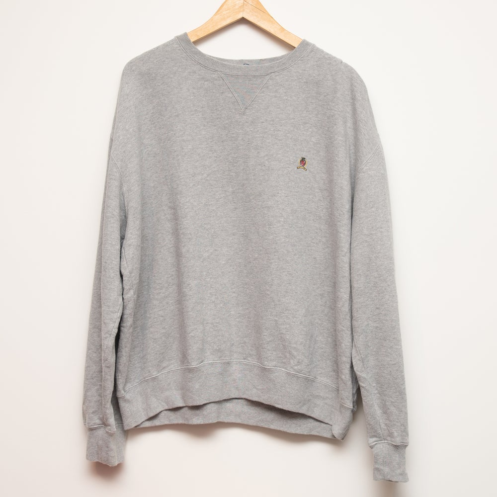 Image of Tommy Hilfiger Grey Crewneck