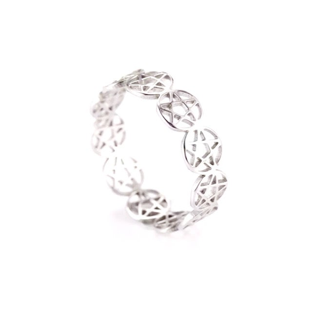 Image of Number 5 ring (stainless steel)