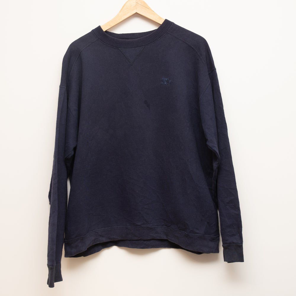 Image of Starter Crewneck Navy M